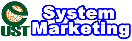 logo UST System Marketing 藍